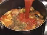 Яхния от свинско с маслини по испански 9