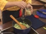 Мусака с праз и печурки 3