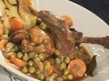 Заек с печени картофи и семена от рез...