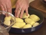 Заек с печени картофи и семена от резене по малтийски 4