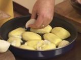 Заек с печени картофи и семена от резене по малтийски 5
