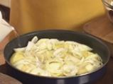 Заек с печени картофи и семена от резене по малтийски 6
