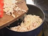 Кюфтенца от кисело зеле с шпеков салам 3