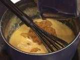 Пай-брюле с праскови и карамелизиран ананас 7