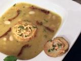 Крем супа от праз със зрял фасул и кр...