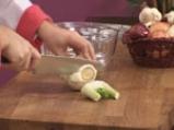 Лаврак с крем от фенел и сушени домати с кориандър 4