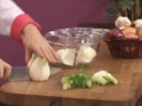 Лаврак с крем от фенел и сушени домати с кориандър 5