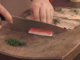 Руладини от лаврак с рулца от раци 3