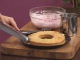 Зехтинов кекс с бадеми и мус от горски плодове 10