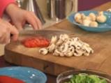 Спаначени палачинки с плънка от броколи и топено сирене