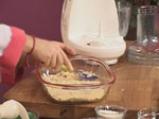 Ябълков сладкиш с крем сирене и топинг от овесени ядки 2