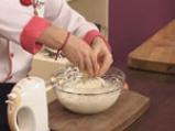 Ябълков сладкиш с крем сирене и топинг от овесени ядки 4