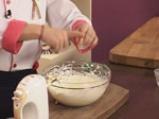 Ябълков сладкиш с крем сирене и топинг от овесени ядки 5
