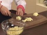 Ябълков сладкиш с крем сирене и топинг от овесени ядки 7