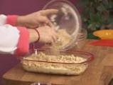 Ябълков сладкиш с крем сирене и топинг от овесени ядки 10