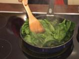 Пиле в зелен сос с тиквено семе 6