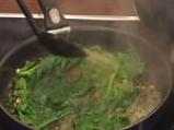 Пиле в зелен сос с тиквено семе 7