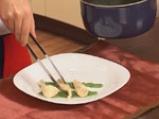 Пиле в зелен сос с тиквено семе 9