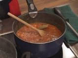 Спагети с пилешки дробчета по селски 8