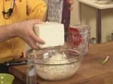 Забулени яйца с пюре от карфиол и крокан от картофи 8