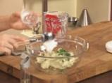 Забулени яйца с пюре от карфиол и крокан от картофи 7