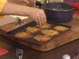 Забулени яйца с пюре от карфиол и крокан от картофи 4