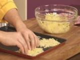 Забулени яйца с пюре от карфиол и крокан от картофи 2