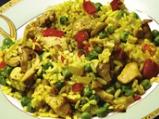 Ориз с пиле по валенсиански