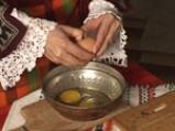 Пържени картофи с яйца и сирене 4
