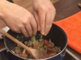Джуркан спанак с рагу от гъби 4