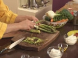 Зеленчуково плато с ранч дип