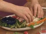 Зеленчуково плато с ранч дип 6