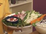 Зеленчуково плато с ранч дип 10