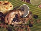 Пилешки гърди с плънка от маслини и б...