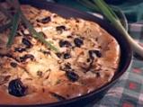 Фокача с резене и маслини