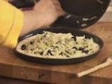 Фокача с резене и маслини 9