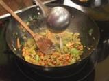 Ориз със спанак и бадеми 8