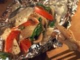 Риба със зеленчуци във фолио