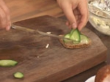 Здравословен салатен сандвич с пилешко 7