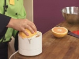 Сорбе от грейпфрут с кисело мляко и мед