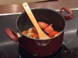 Доматена супа с телешки кюфтенца 2