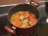 Доматена супа с телешки кюфтенца 4