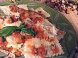 Равиоли с гъби и доматен сос