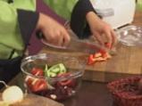 Супа от домати и цвекло с краставица на кристали 2