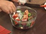 Супа от домати и цвекло с краставица на кристали 3