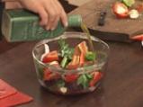 Супа от домати и цвекло с краставица на кристали 4