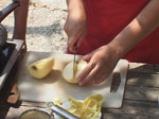 Миди с ябълков пълнеж
