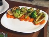 Лаврак със зеленчуци 6