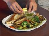 Лаврак със зеленчуци 9