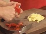 Червена леща със зеленчуци 4